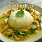 Spicy Butter Cream Chicken Rice