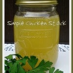 Simple Chicken Stock