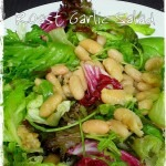 Ballads of Salads! – Cannellini Beans and Roast Garlic Salad