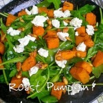 Ballads of Salads! – Roast Pumpkin & Arugula