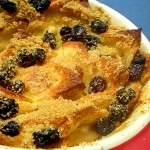 Stale Bread – Bread and Apple Pudding
