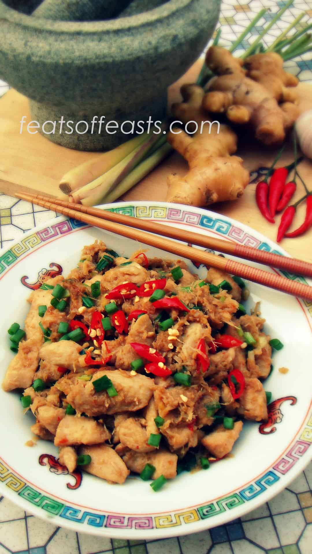 ginger, garlic chilli chicken 1 | Feats of Feasts | A Food ...
