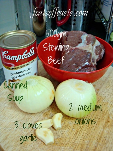 stroganoff ingredients 1