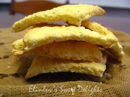 Tebaloi Sago cookies, Elin of Elinluv Tidbits Corner