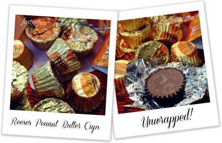 reese cups collage