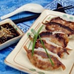 Pork and Chives Yaki-Gyozas and Gyoza Wantons in Miso