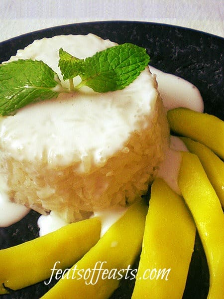 Rice Month – Sweet Sticky Rice and Mango