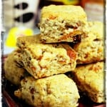 March 2013; Scones Month – Dried Apricots and Walnut Scones
