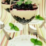 No-Bake Cheesecake Dessert with Blueberries