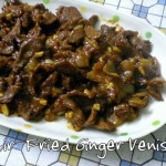 Stir-Fried Ginger Venison