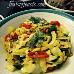 Stir-Fried Curried Cabbage