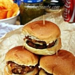 Simple Pork Sliders with Caramelised Onions