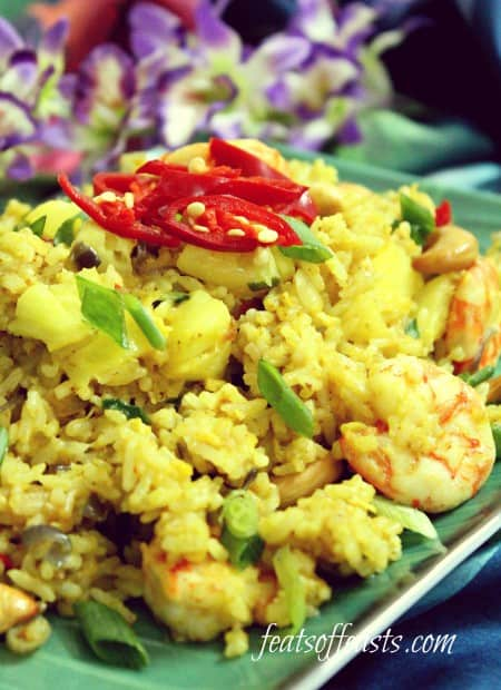 AFF Thailand – Thai Pineapple Fried Rice | Feats of Feasts | A Food ...