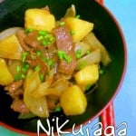 Nikujaga – Stew of Meat and Potatoes