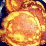 Corncakes (Corn Pancakes) for the little man!