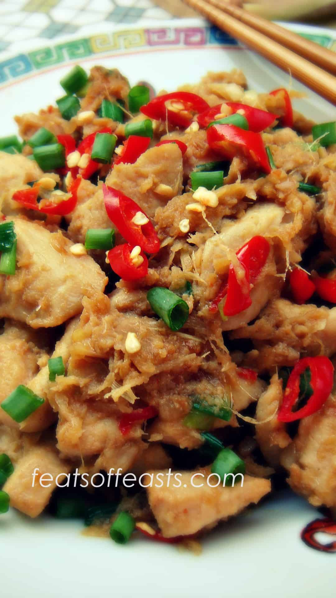 ginger, garlic chilli chicken 2 | Feats of Feasts | A Food ...