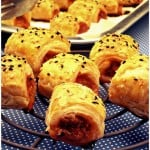 Puff Pastry – Mini Sausage Rolls