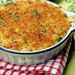 Rice Month – Cheesy Baked Rice