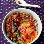 Rice Month – Bibimbap (Redone)