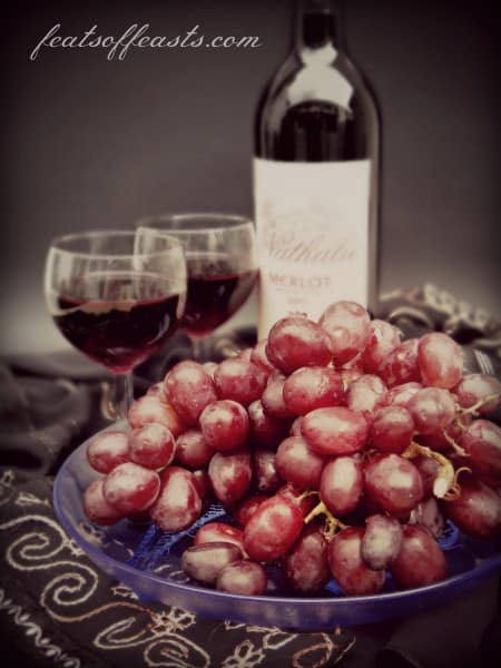 wine and grapes 3
